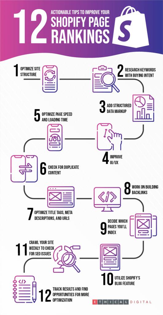 Shopify SEO Infographics